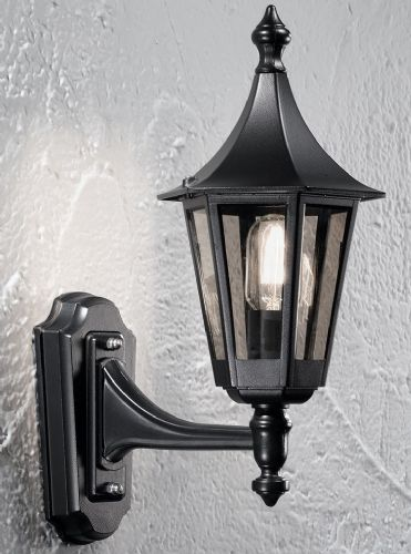 Franklite LA1602-1 Black Wall Light